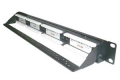 Patch Panel 24 Portas Cat.5e Com Guia Traseiro