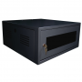 Mini Rack 6U 370mm Preto - IP Service